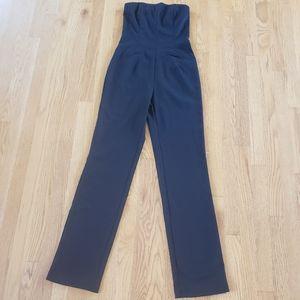 Vintage/Retro Black Jumpsuit